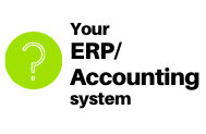 your ERP/accounting system
