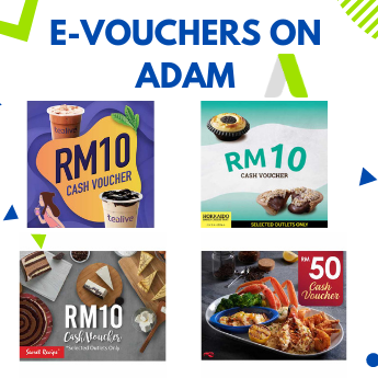 Gift Vouchers available on ADAM as a gift for clients and employees