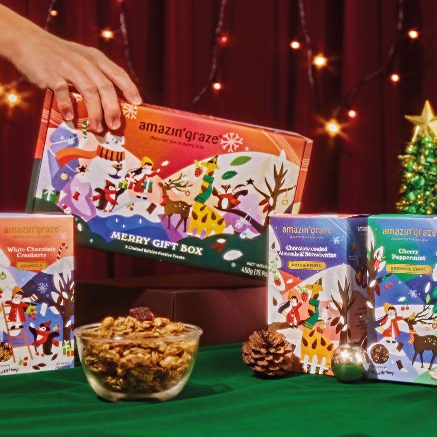 Amazin' Graze gift box on ADAM